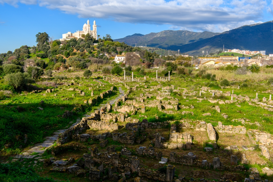 Les ruines d'Hippone