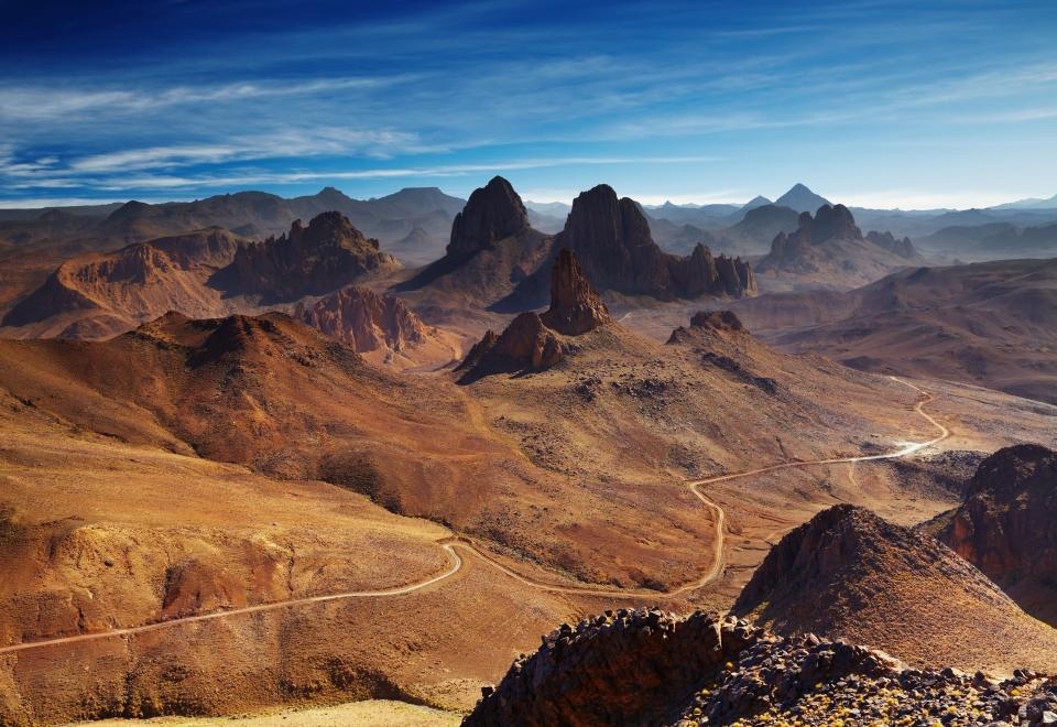 Les montagnes du Hoggar
