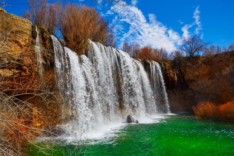 Les cascades del Molino de San Pedro