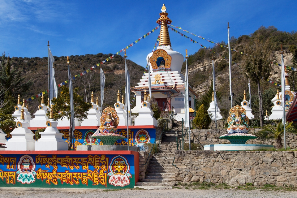 Le temple Dag Shang Kagyu