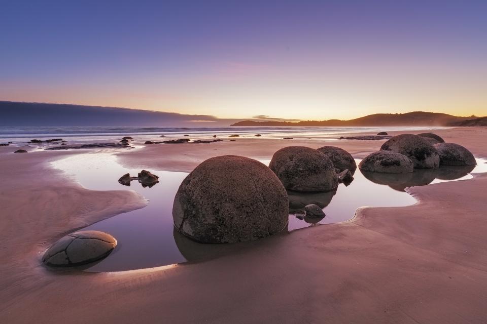 Koekohe Beach, Nueva Zelanda