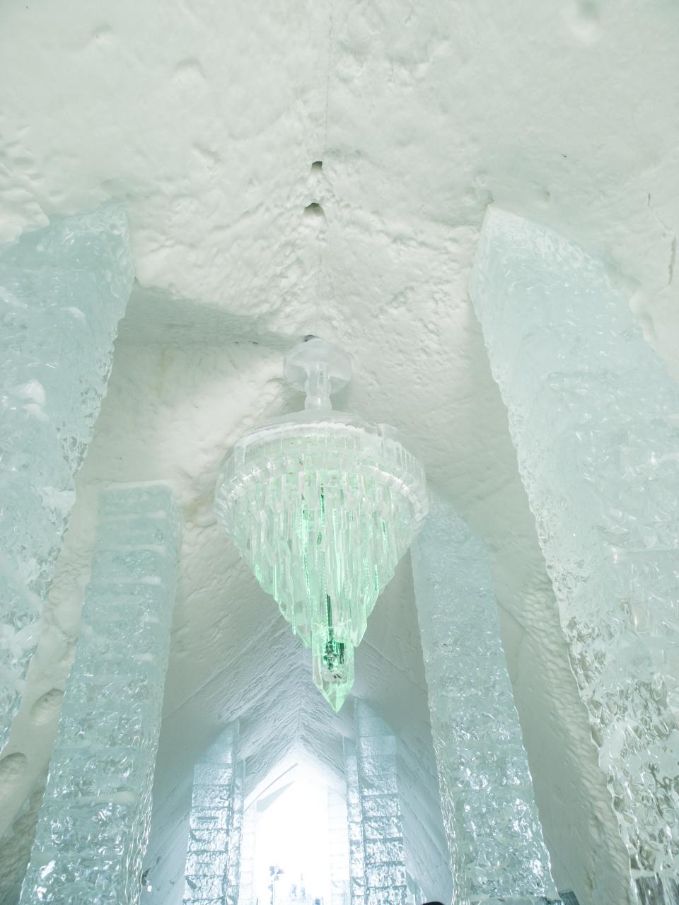 Boda invernal en un hotel de hielo