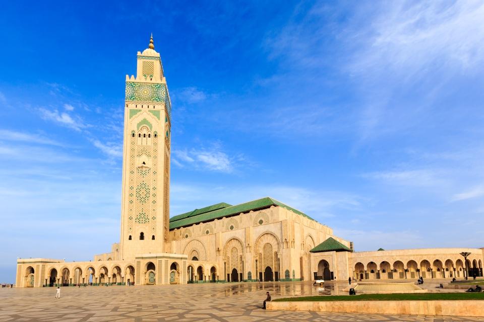 Mezquita Hassan II, Marruecos