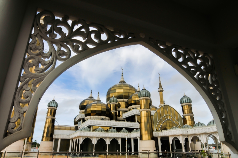 Mezquita de Cristal, Malasia