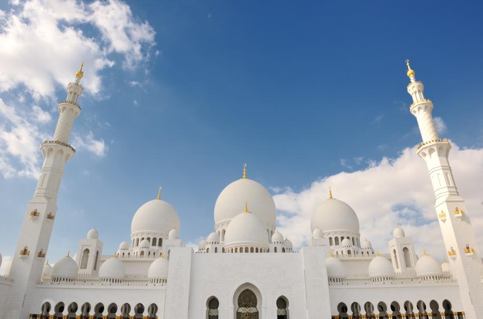 Mezquita Sheikh Zayed, Emiratos Árabes