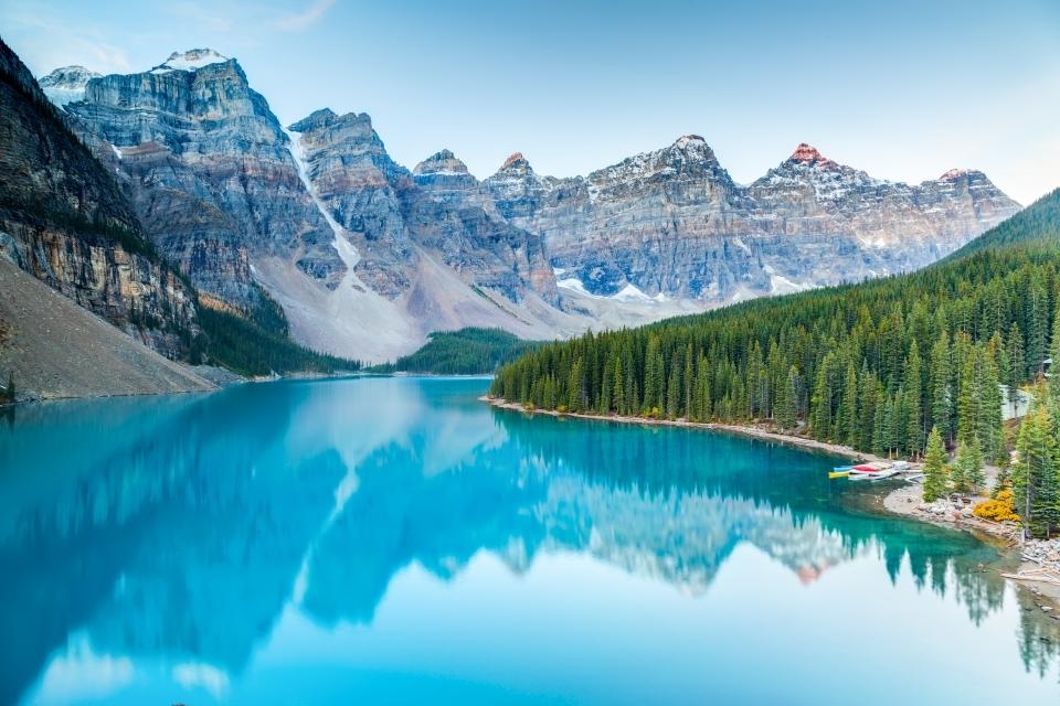 Desconectar en el Parque Nacional de Banff