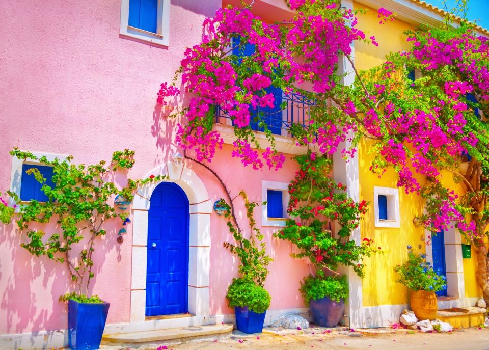 Una casa a Cefalonia, Grecia