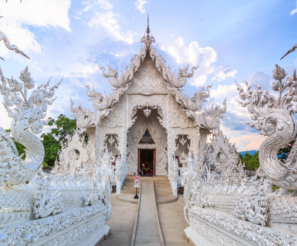 Wat Rong Khun, il Tempio bianco