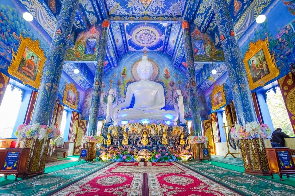 Wat Rong Seur Ten, il Tempio blu