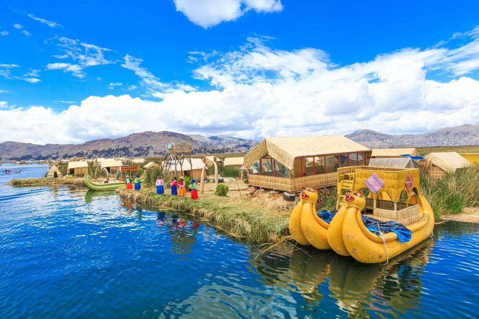 Schwimmende Inseln, Peru