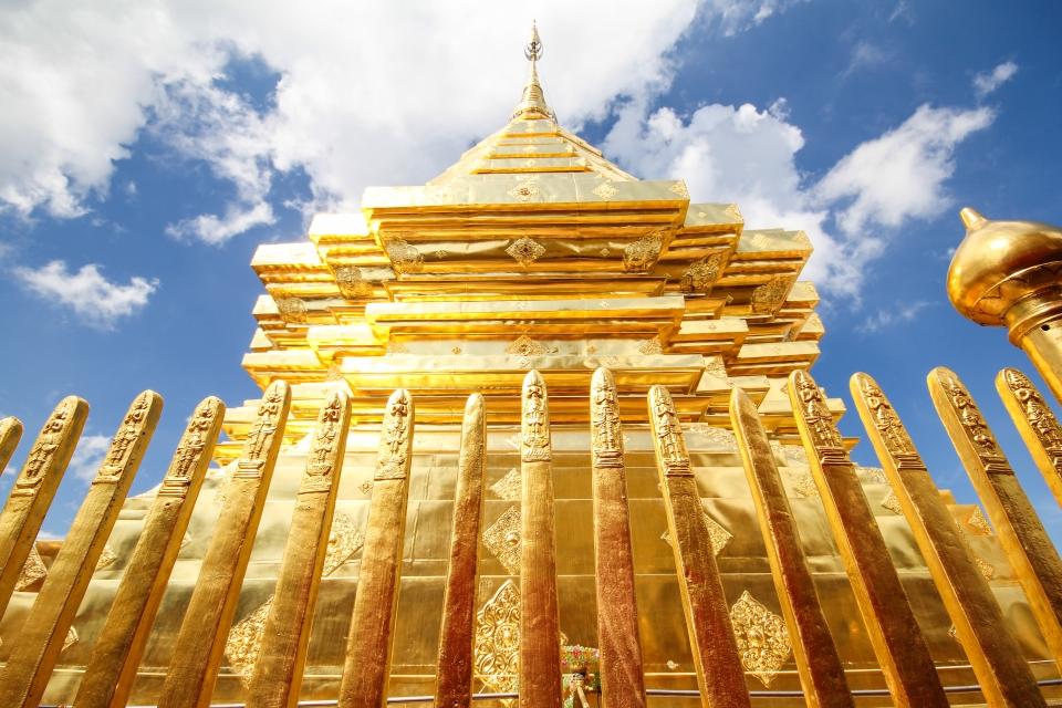 Wat Phrathat Doi Suthep, il Tempio dorato