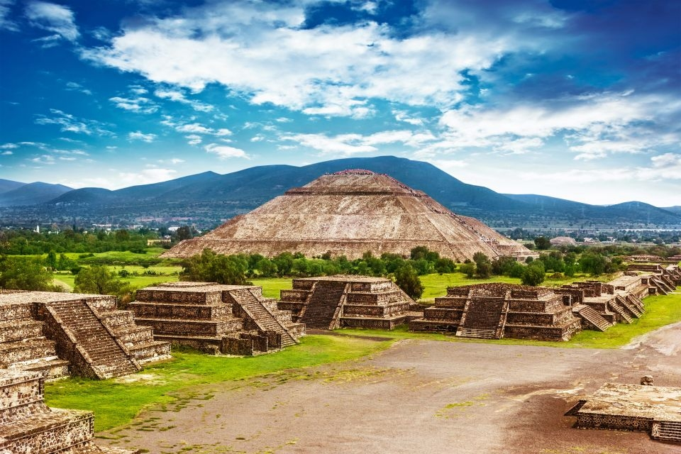 Les pyramides de Teotihuacán (Mexique)