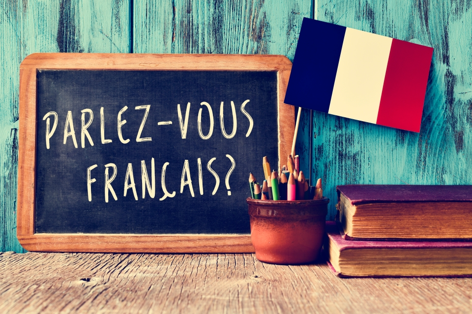 Not learning a few French words before your trip