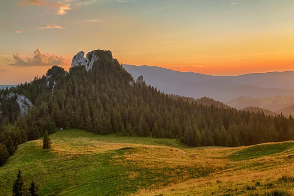 'Mountains of the Sunset,' Romania