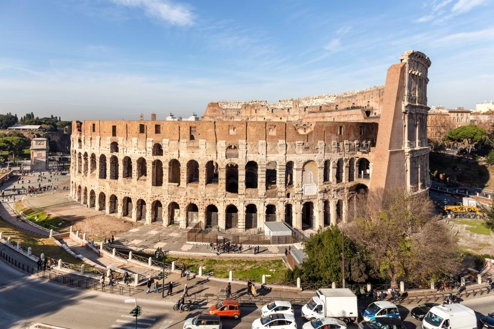 Sweet Inn appartement avec vue sur le Colisée à Rome
