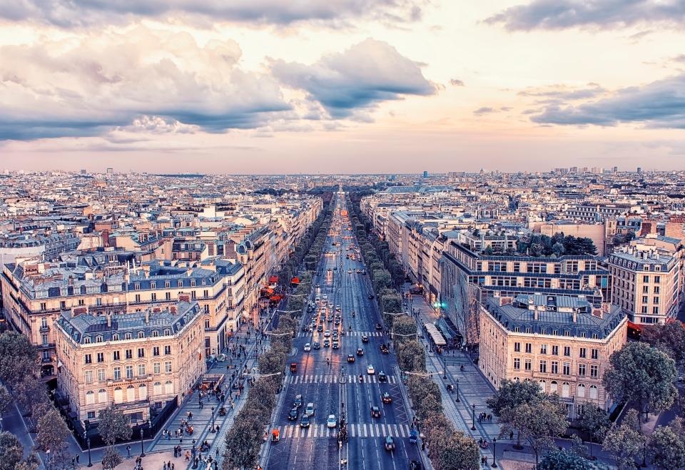 Les Champs-Élysée, Paris, France