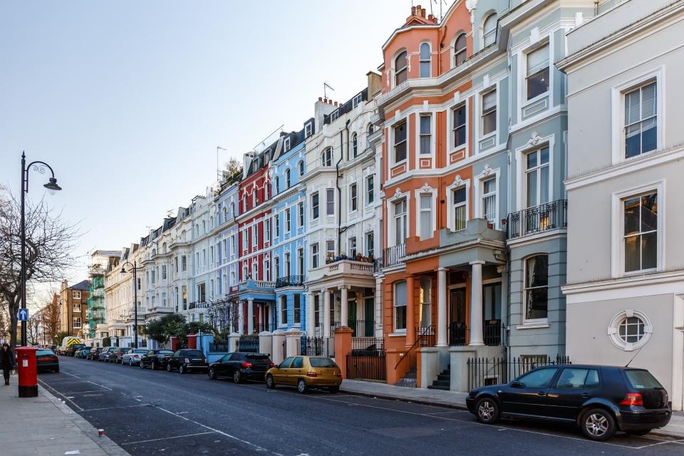 Portobello Road, Notting Hill, Londres, UK