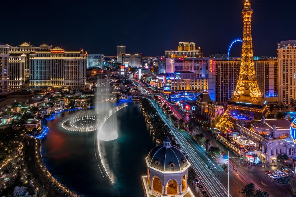 Le Strip, Las Vegas, USA