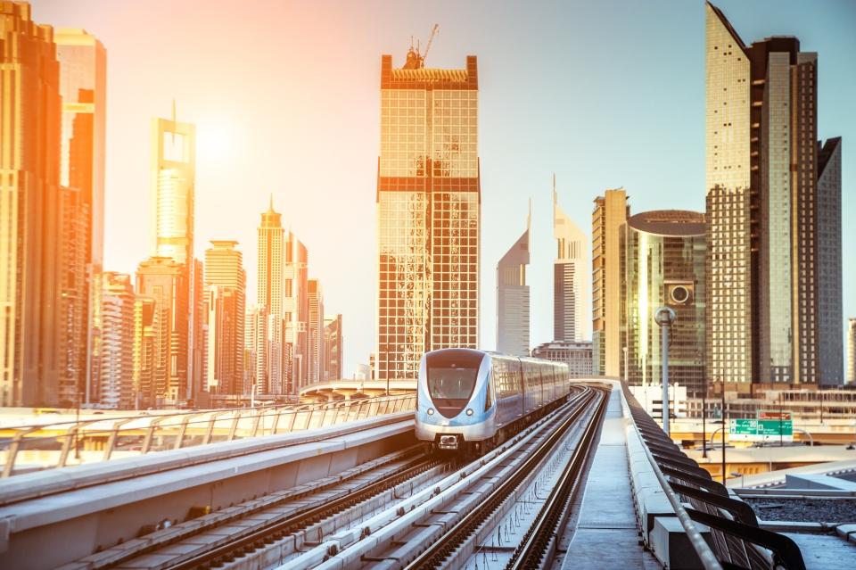 5.Los medios de transporte en Dubái