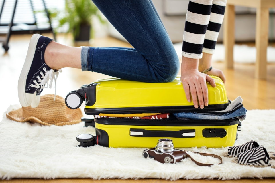 Be realistic with your packing
