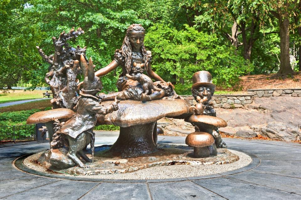 The Alice in Wonderland Statue, New York