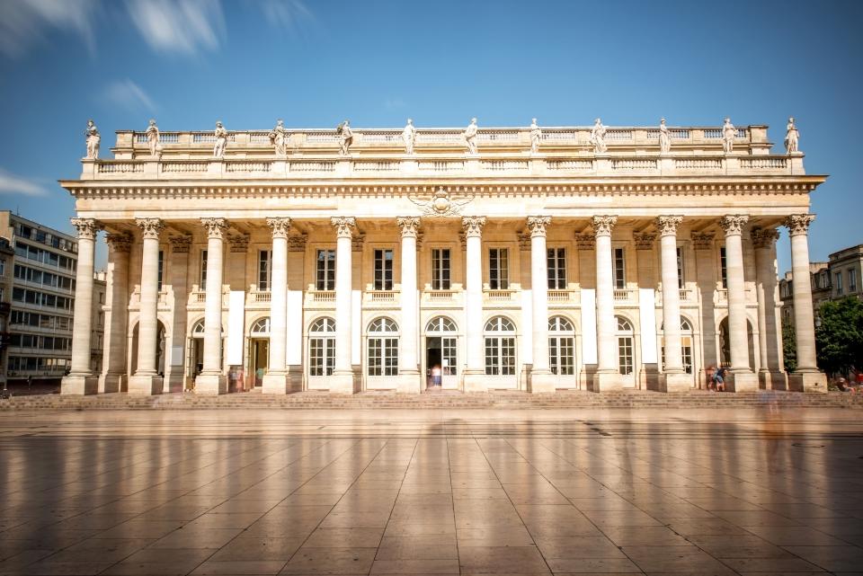 4.El Gran Teatro de Burdeos