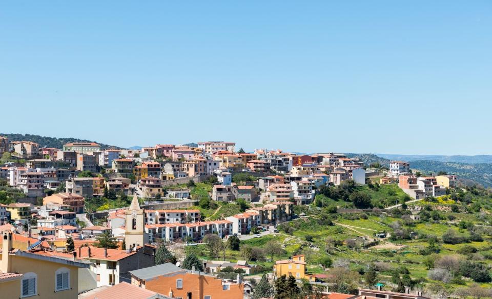 Il borgo dipinto di Ogliastro