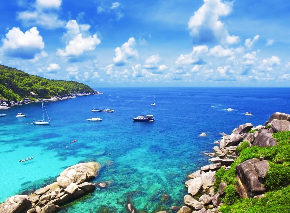 Las islas Similan, Tailandia