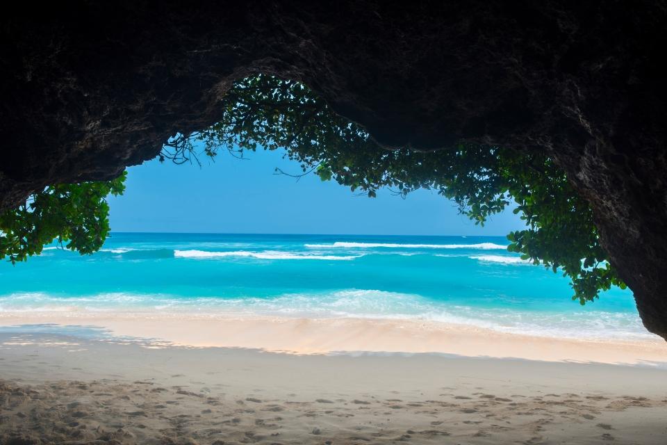 Green Bowl Beach, Bali