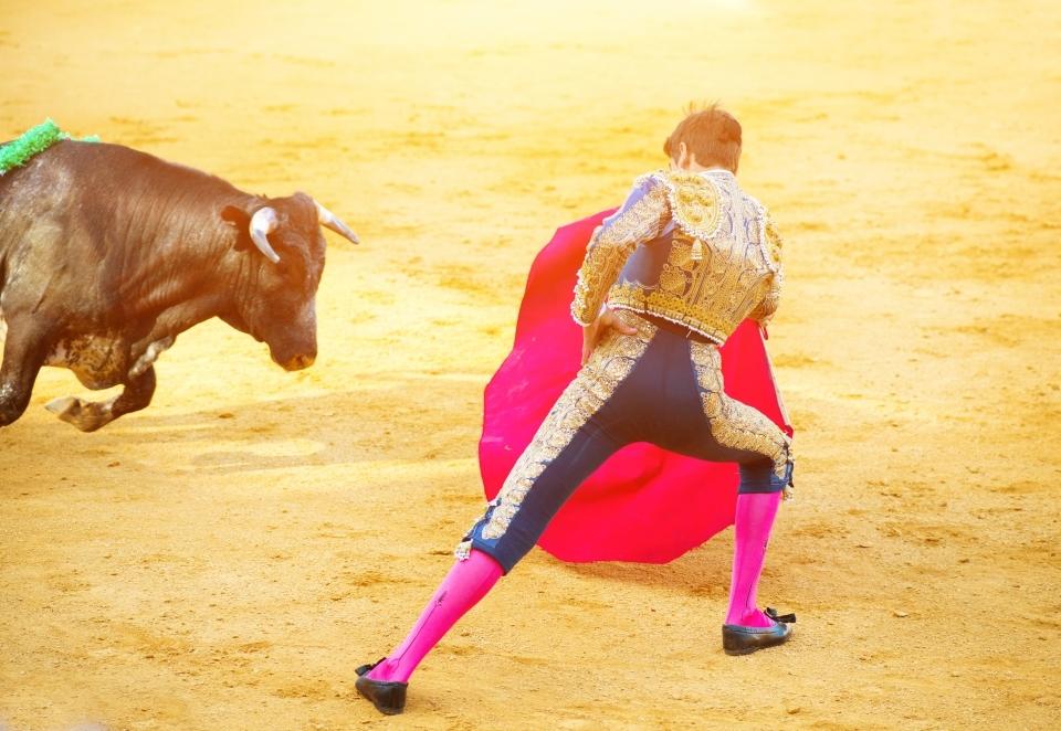 Las corridas de toros son el deporte preferido de los españoles