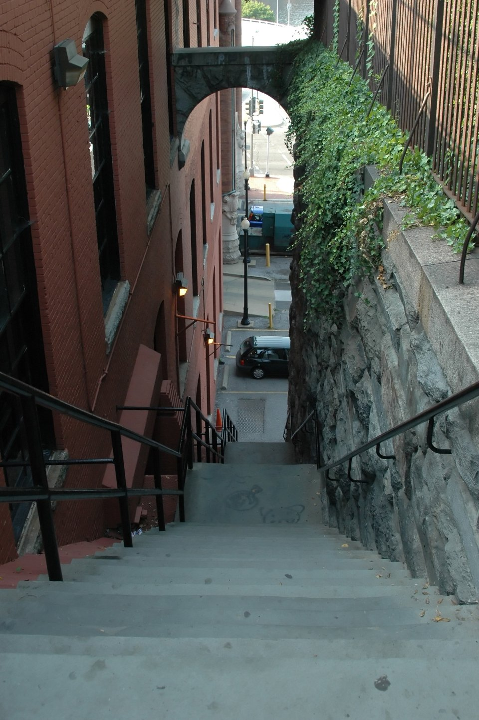 Stairs from <i>The Exorcist</i>