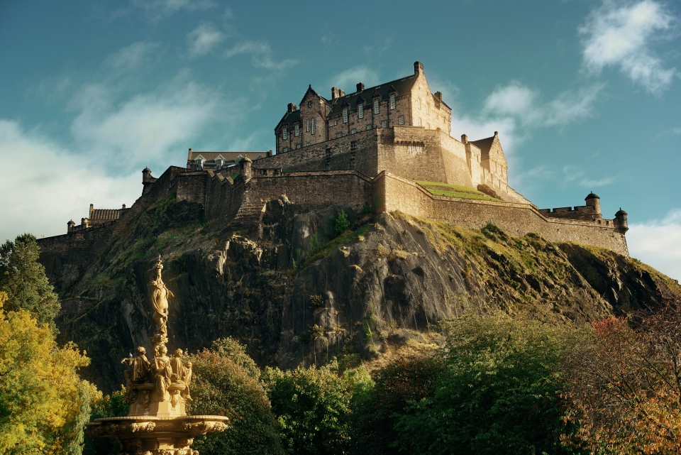 Edinburgh Castle, Scotland