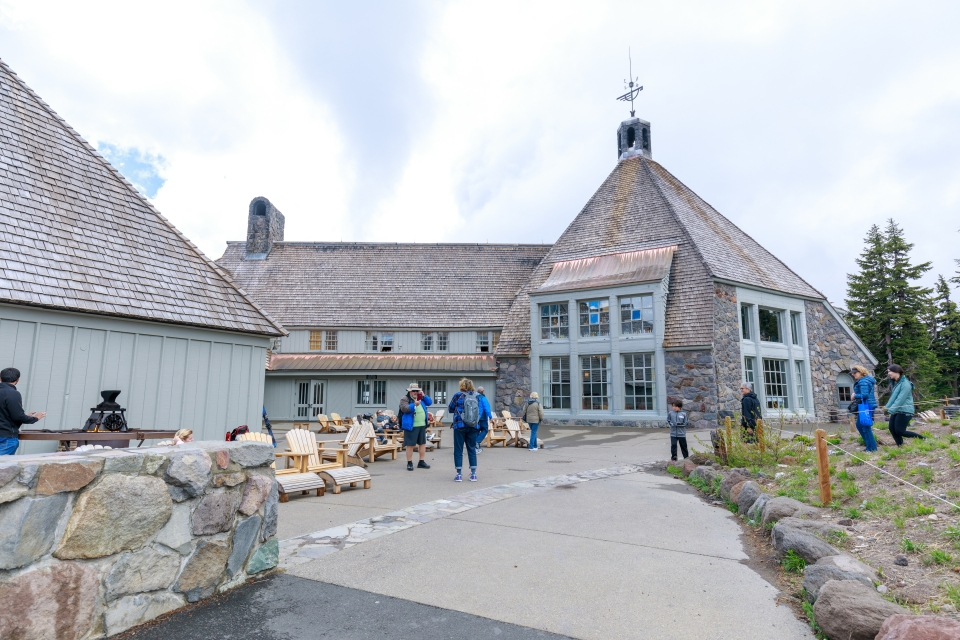 Timberline Lodge, <i>El Resplandor</i>