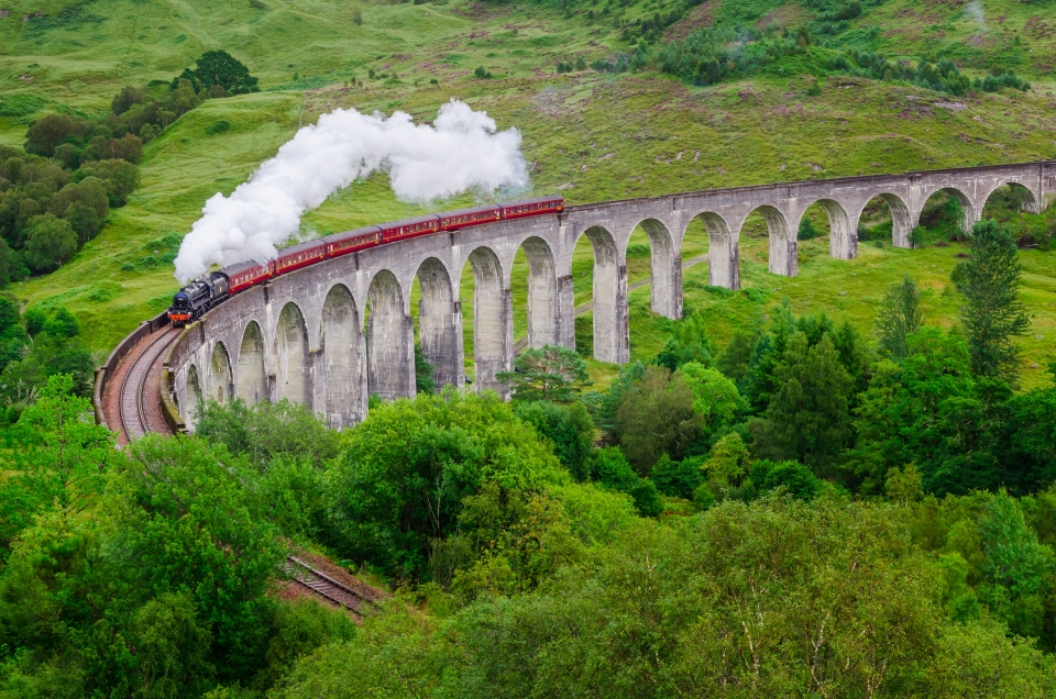 Écosse : le viaduc de Glenfinnan