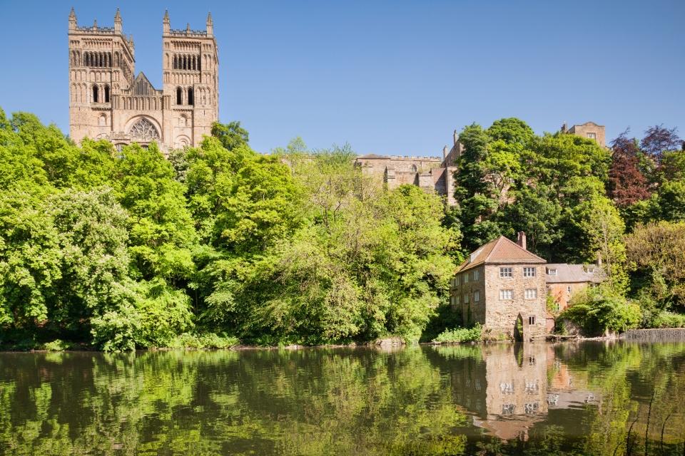 Angeleterre : la cathédrale de Durham