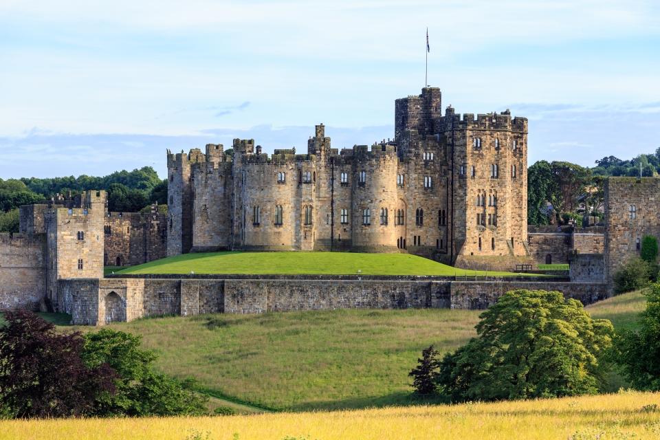 Angleterre : Château d'Alnwick