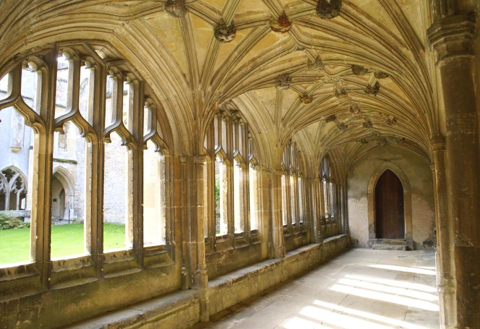Angeleterre : l'abbaye de Lacock