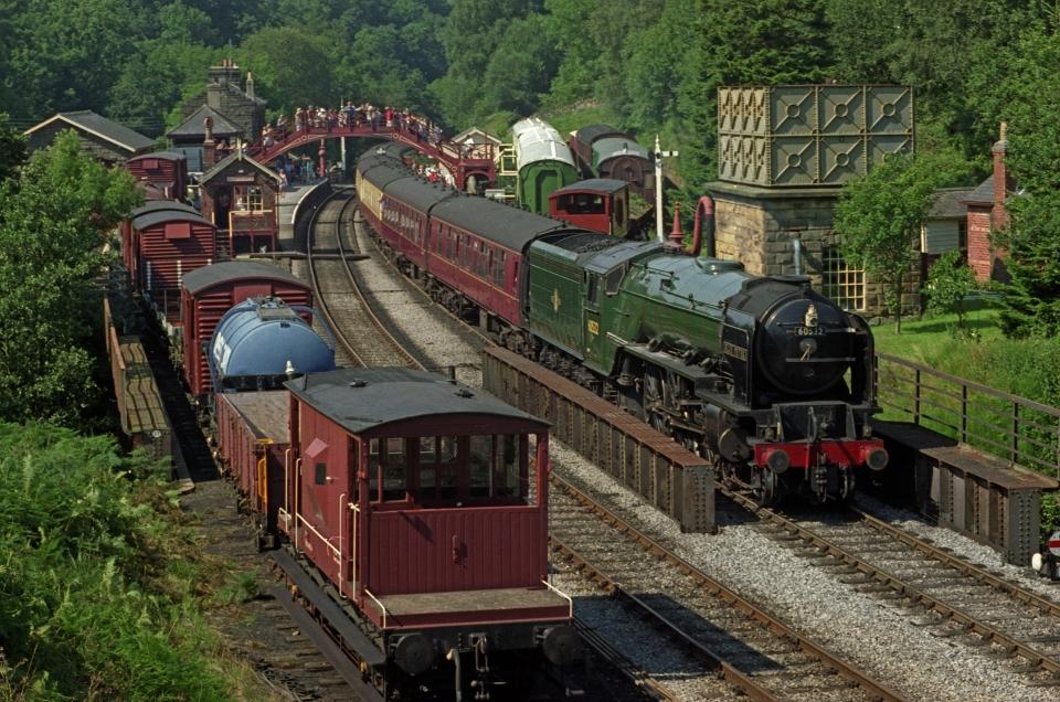 Angeleterre : la gare de Goatland