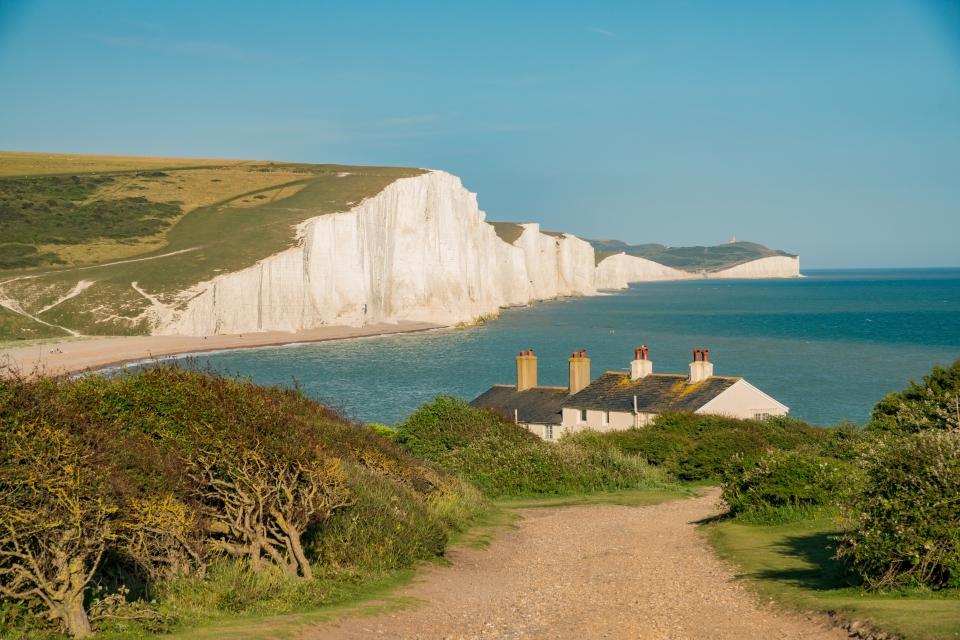 Angleterre : les falaises des Seven Sisters