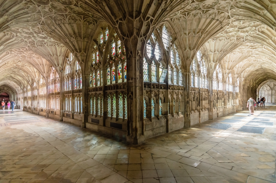 Angleterre : la cathédrale de Gloucester