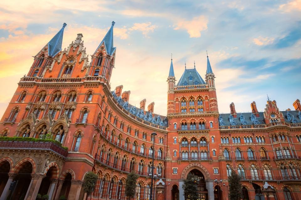 Londres : la gare de King's Cross St. Pancras