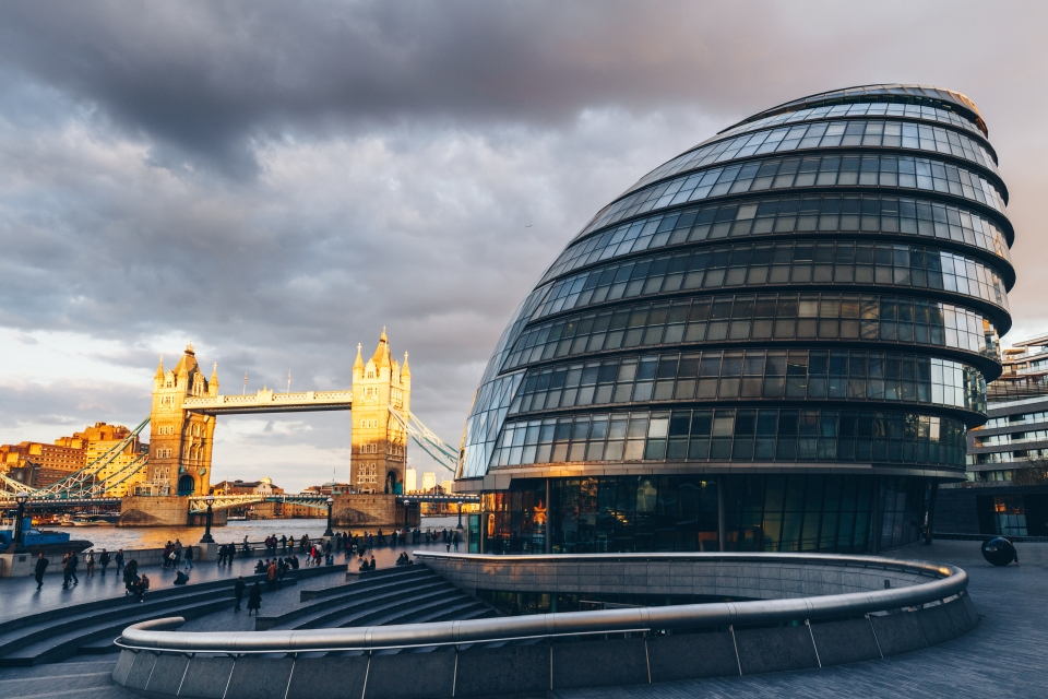 Londres : l'hôtel de ville