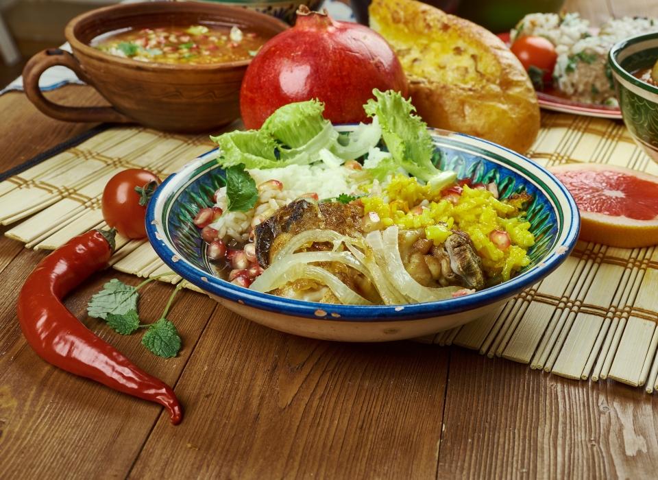 3.La rica gastronomía
