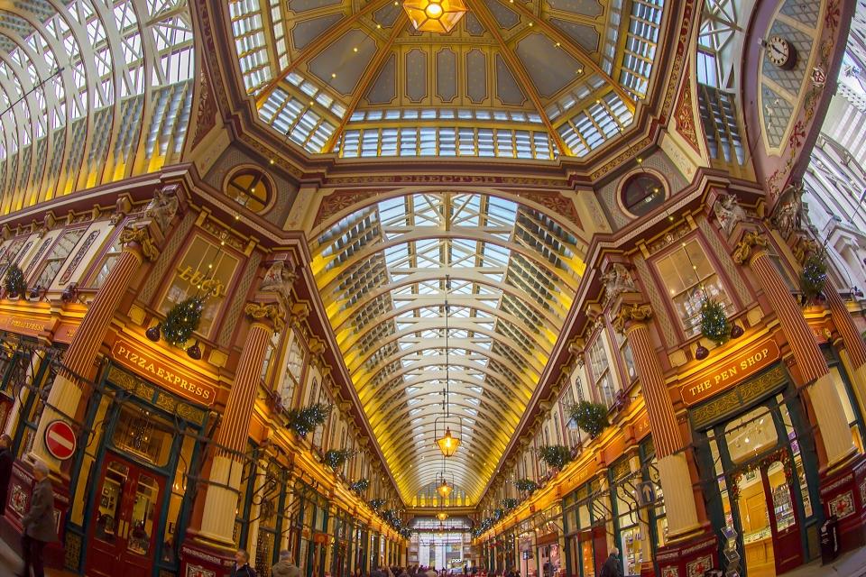 Londres : le marché de Leadenhall