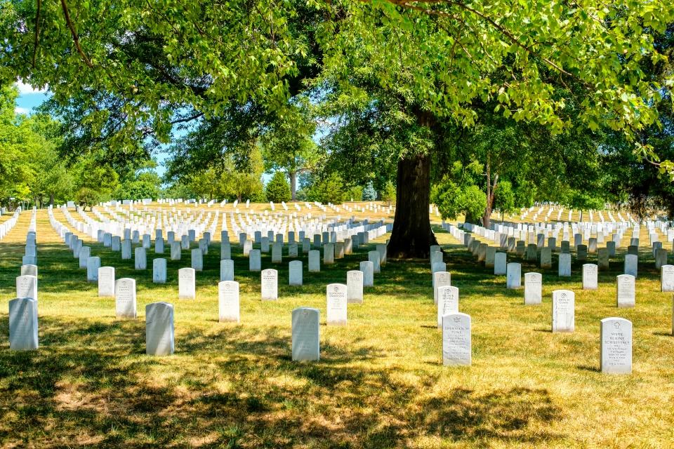 Cementerio Nacional de Arlington de Washington, Estados Unidos
