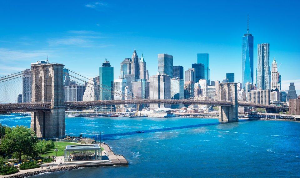 Platz 8: New York