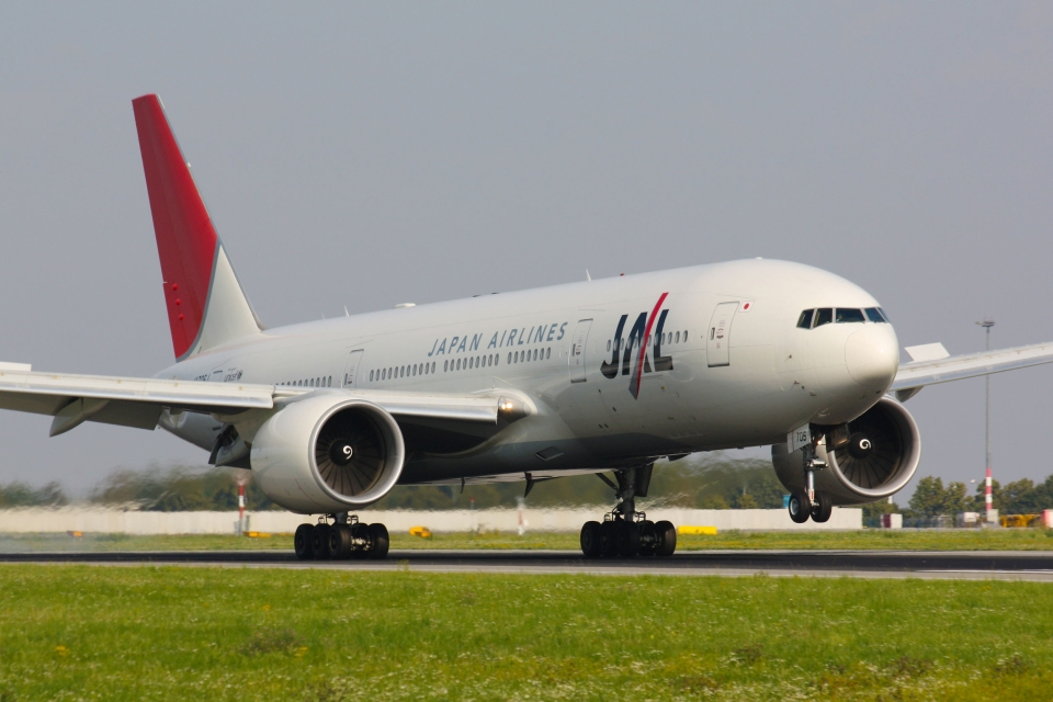 10. The Sky Suite Japan Airlines
