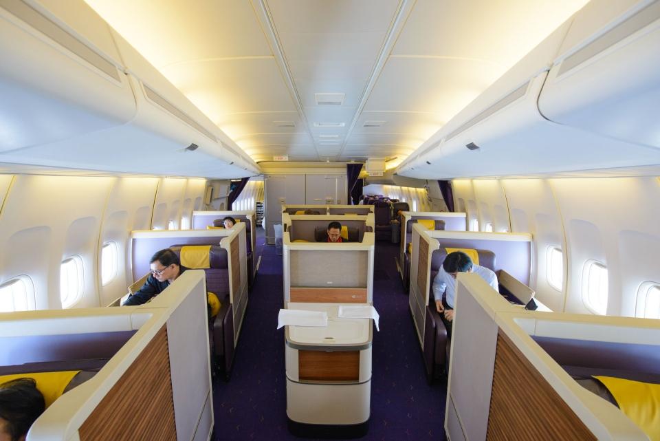 6. Thai Airways Royal First Class