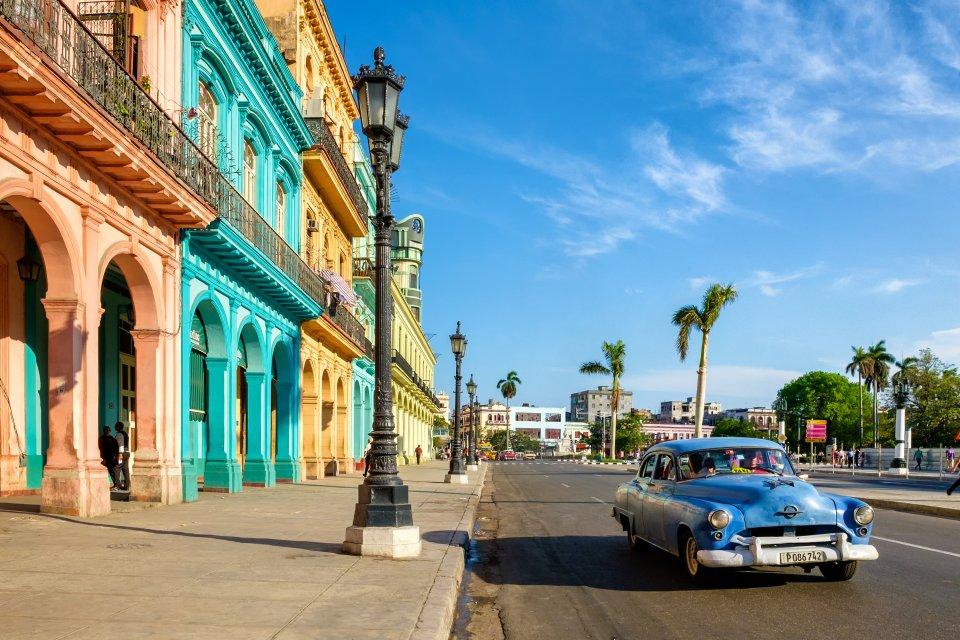 January: Cuba