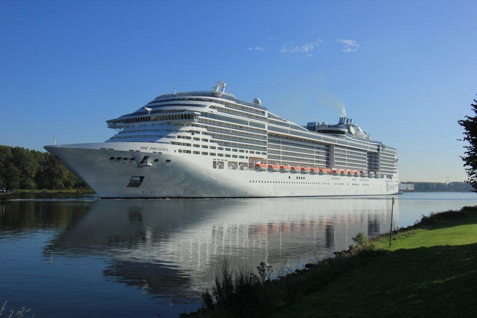 MSC Crociere sta sviluppando navi da crociera con motori ibridi